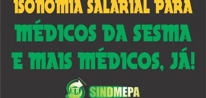 Médicos da ESF exigem isonomia com Mais Médicos