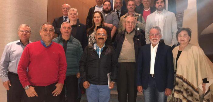 Líderes sindicais brasileiros participam da reunião da Confemel no Chile